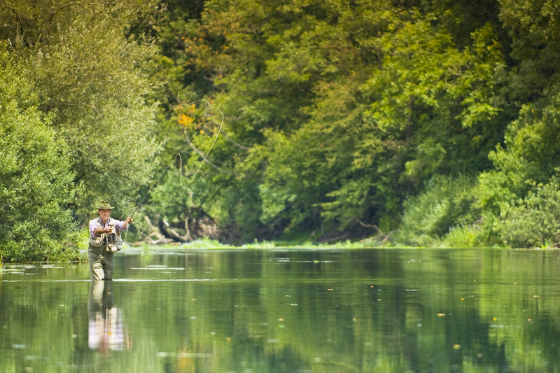Fishing in Central Slovenia