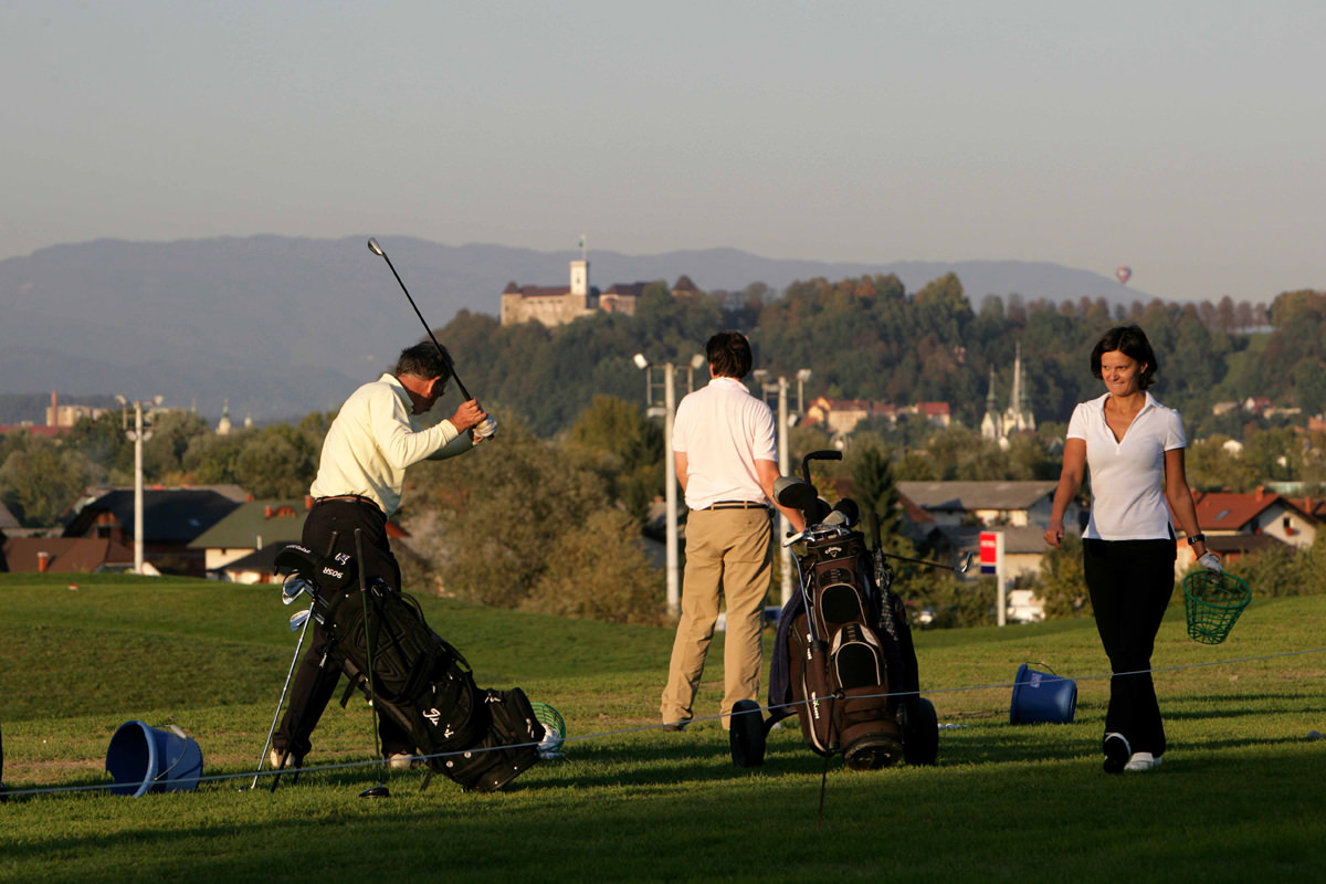 Golf in Ljubljana and Slovenia