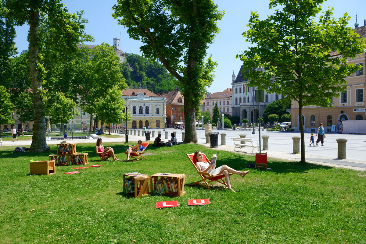 Literary trails of Ljubljana