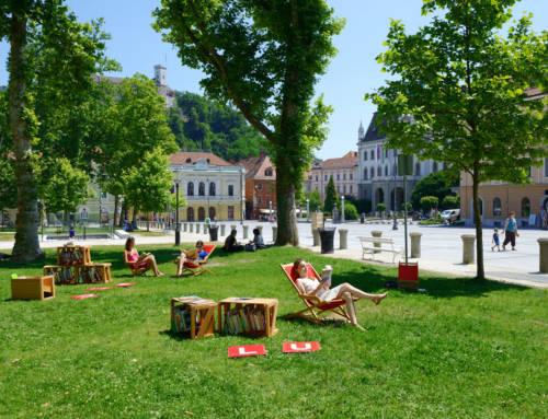 Literary trails of Ljubljana