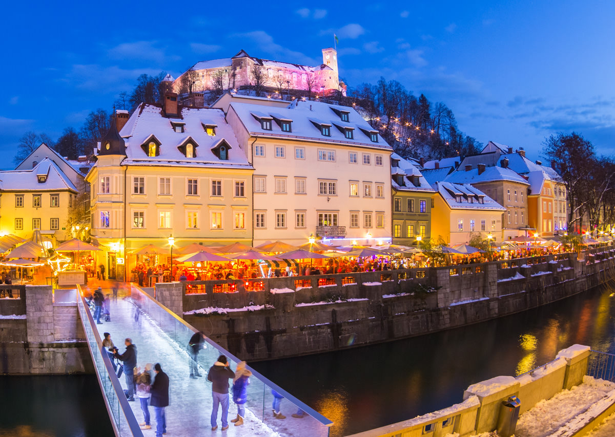 Things to do in Ljubljana during festive December